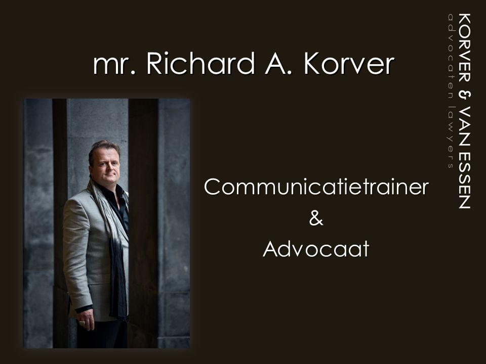 Communicatietrainer & Advocaat