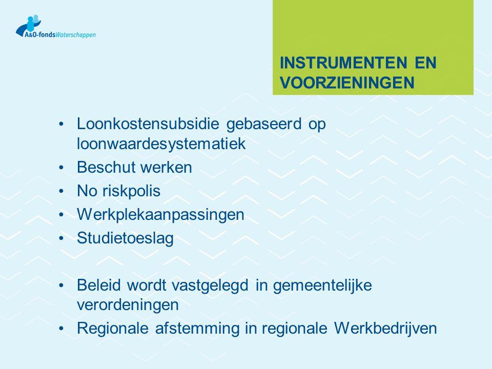 Instrumenten en voorzieningen