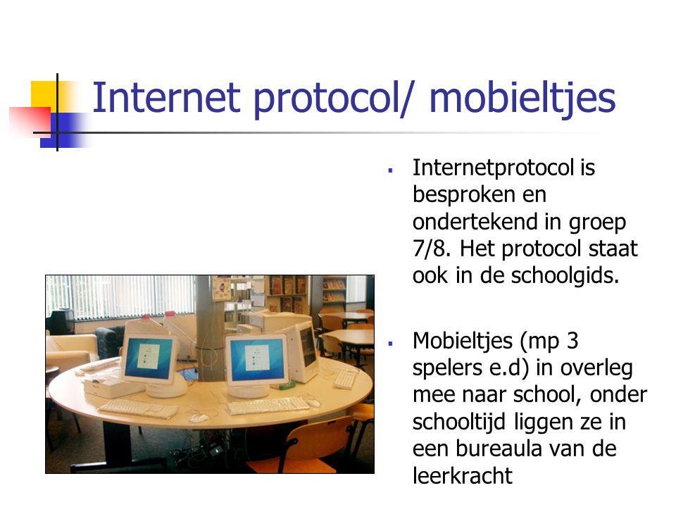 Internet protocol/ mobieltjes