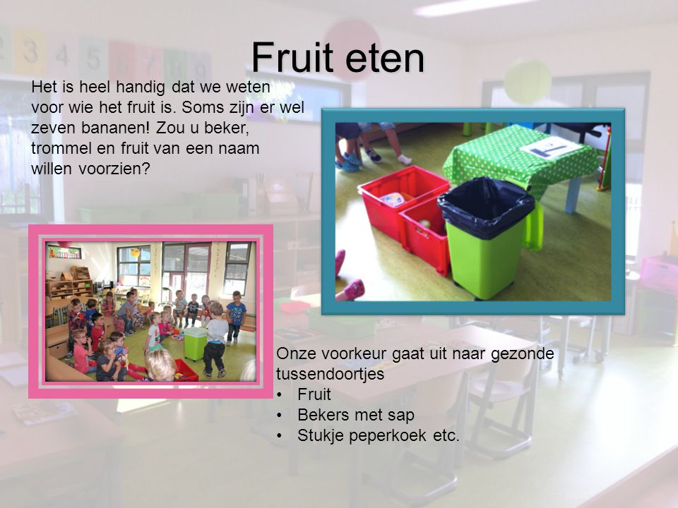 Fruit eten
