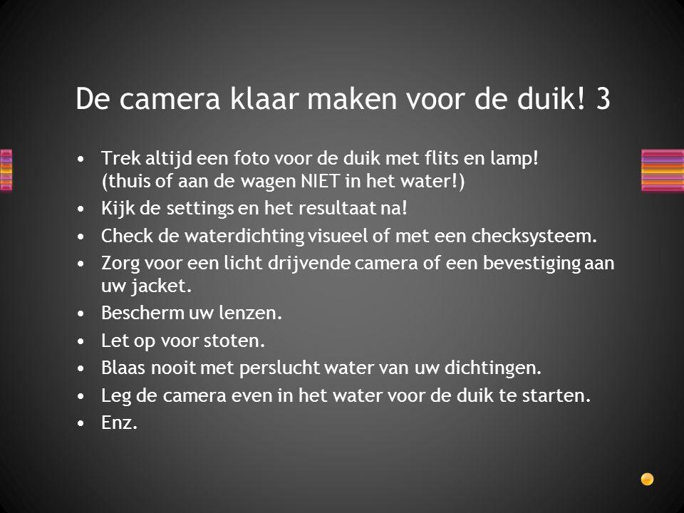 De camera klaar maken voor de duik! 3