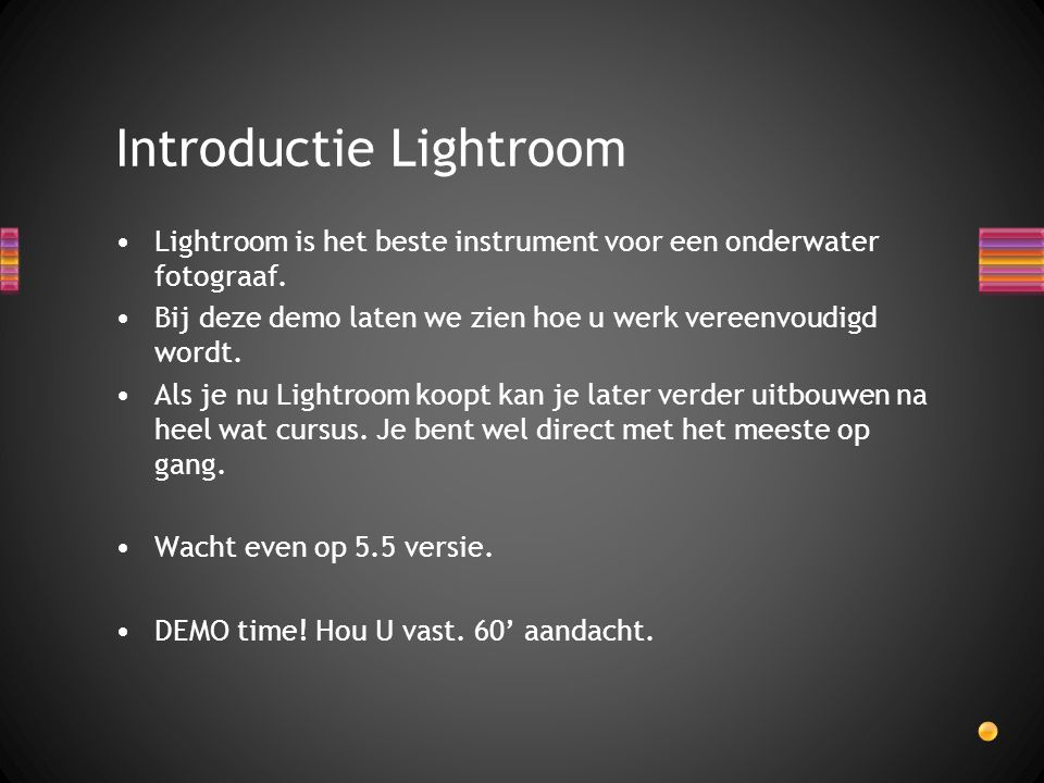 Introductie Lightroom