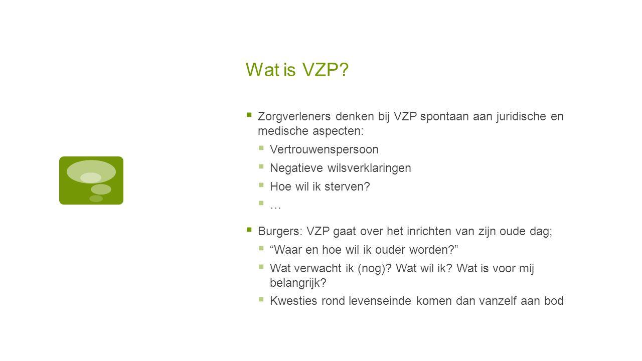 Wat is VZP Zorgverleners denken bij VZP spontaan aan juridische en medische aspecten: Vertrouwenspersoon.