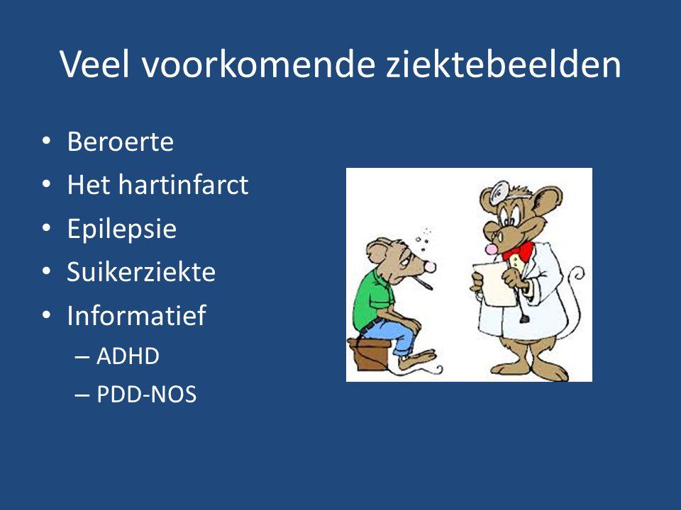 Veel voorkomende ziektebeelden
