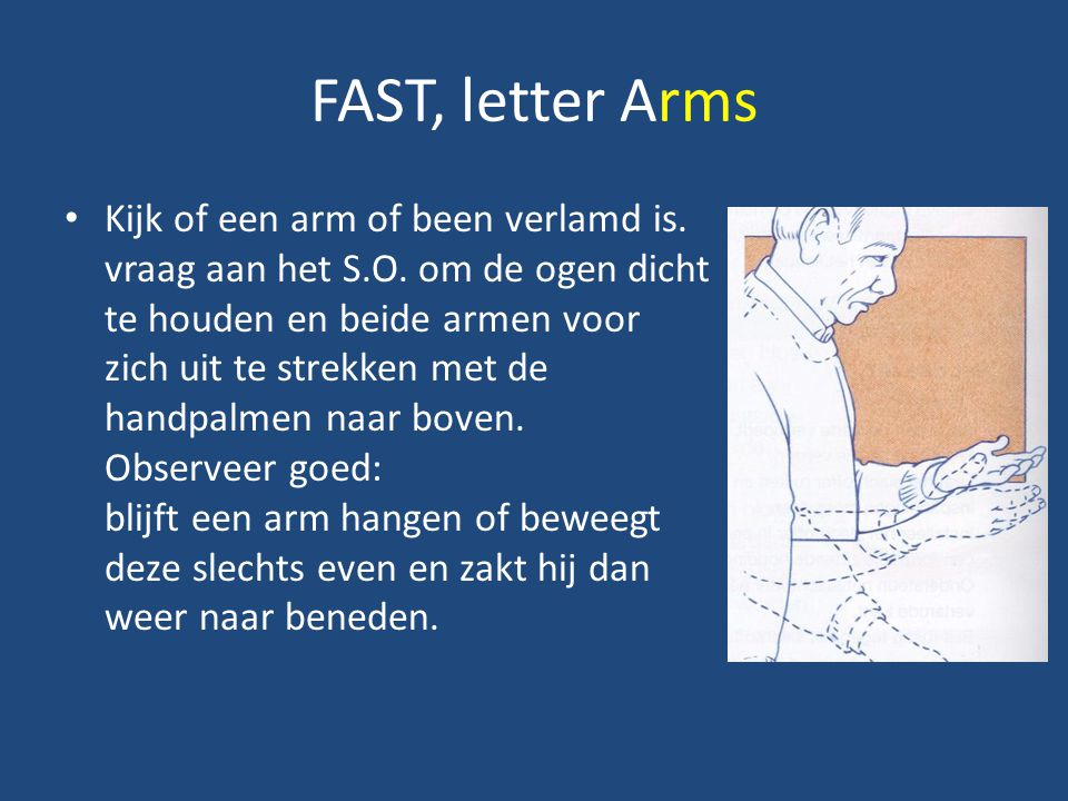 FAST, letter Arms
