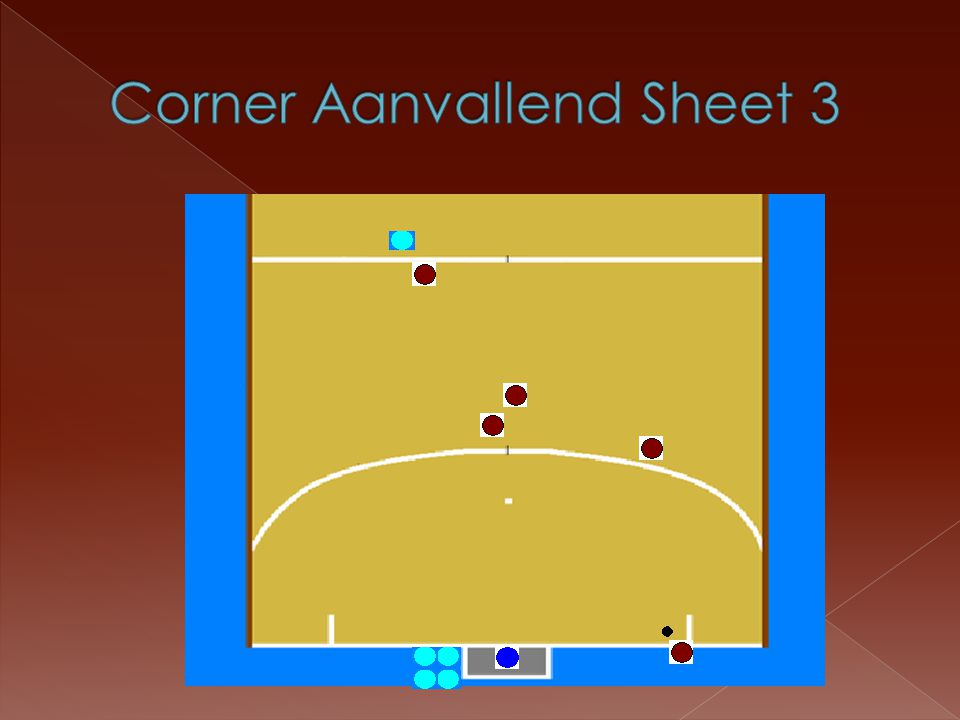 Corner Aanvallend Sheet 3