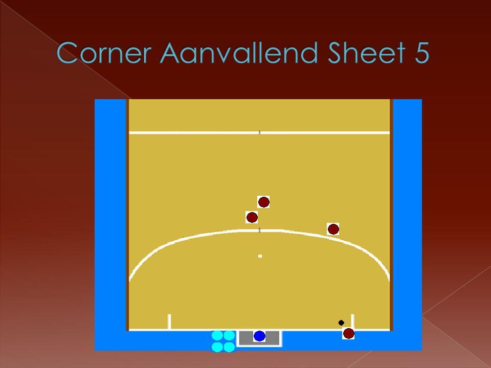 Corner Aanvallend Sheet 5