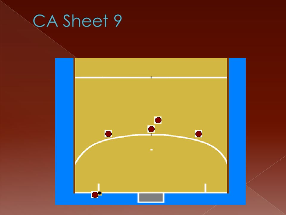 CA Sheet 9