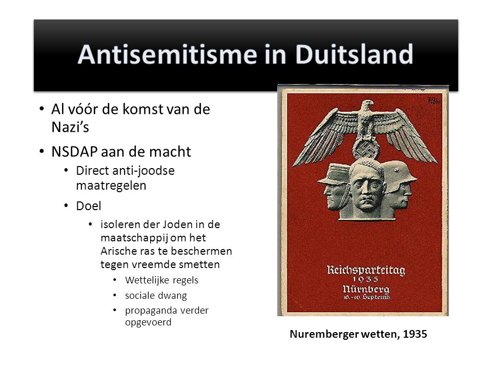 Antisemitisme in Duitsland