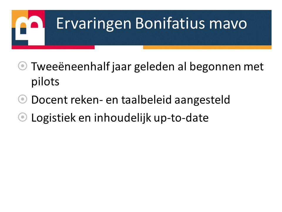 Ervaringen Bonifatius mavo