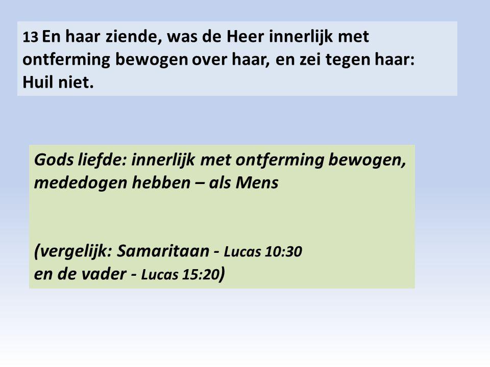 (vergelijk: Samaritaan - Lucas 10:30 en de vader - Lucas 15:20)