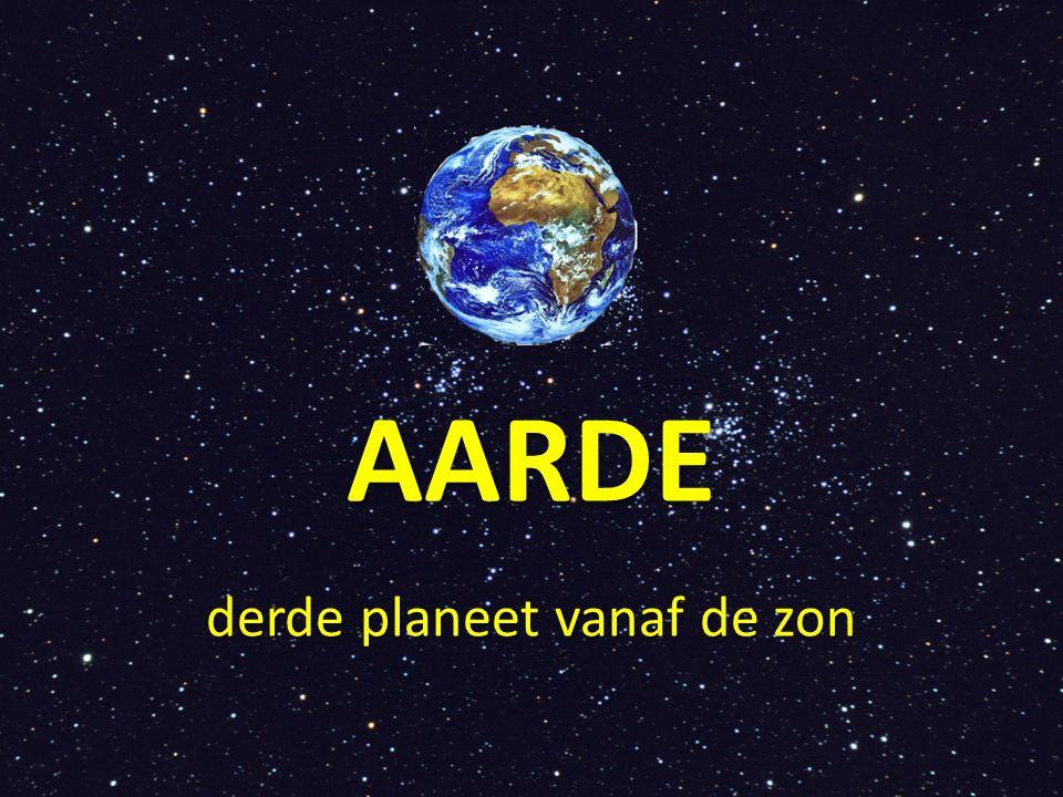 derde planeet vanaf de zon