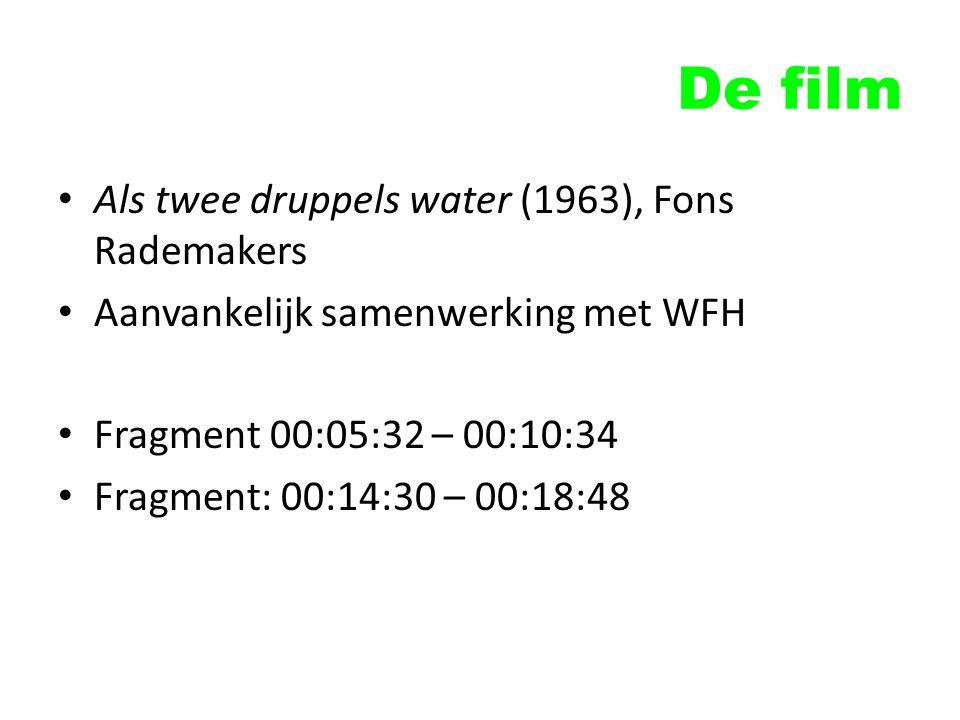 De film Als twee druppels water (1963), Fons Rademakers