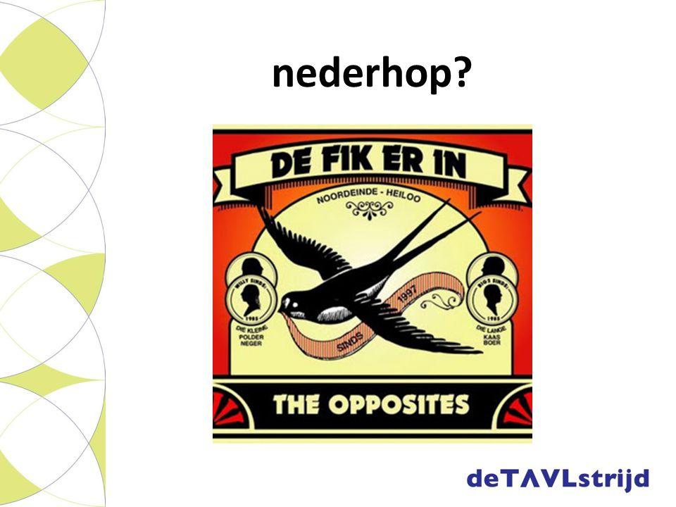 nederhop Nederlandstalige hiphop