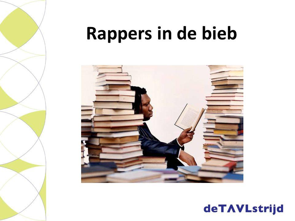 Rappers in de bieb
