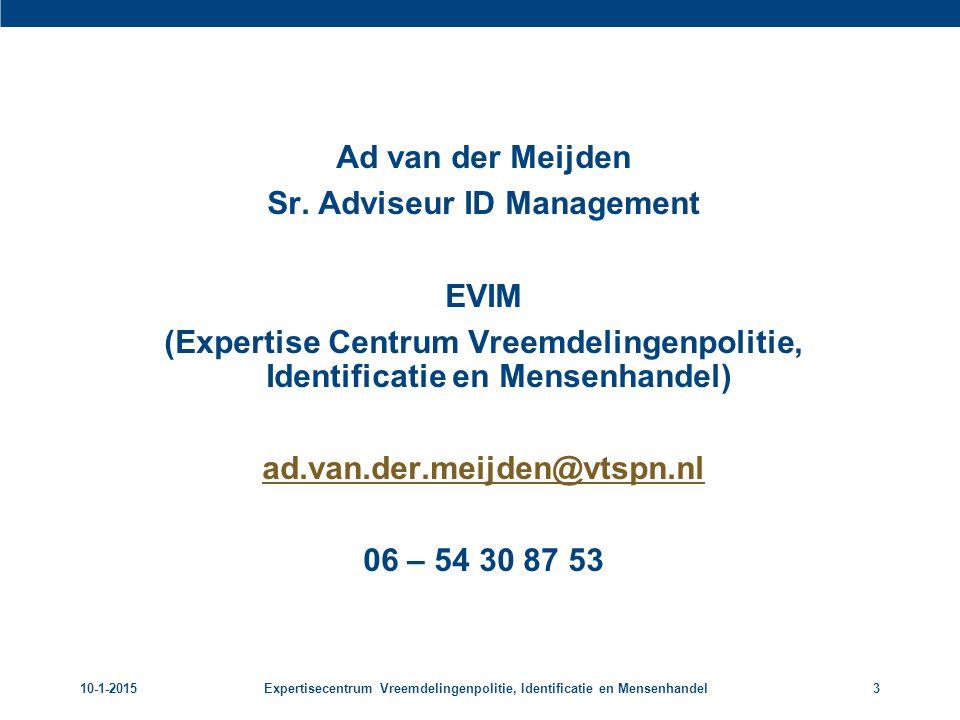 Sr. Adviseur ID Management