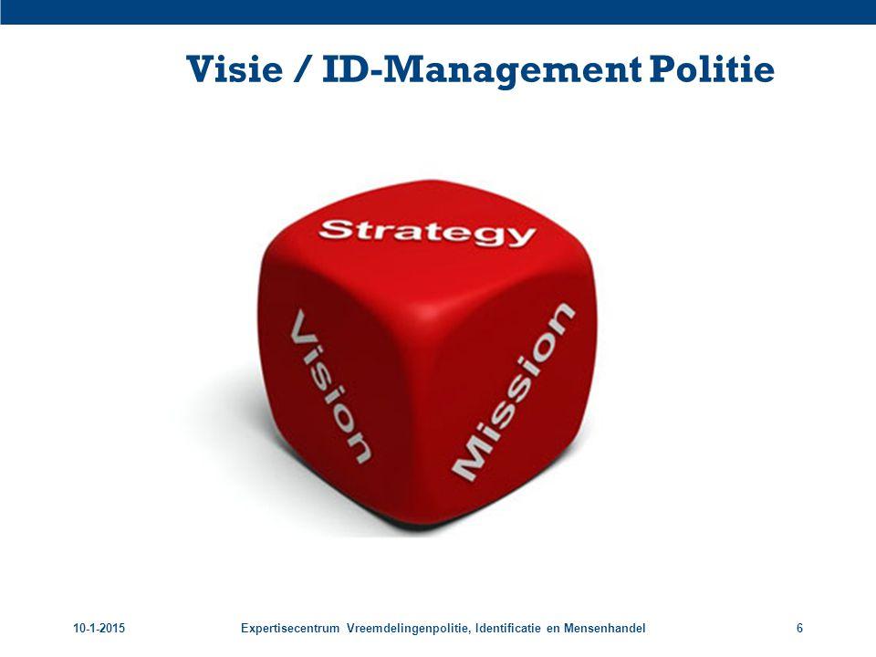 Visie / ID-Management Politie