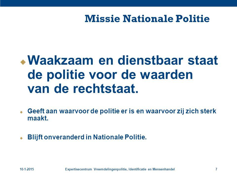Missie Nationale Politie