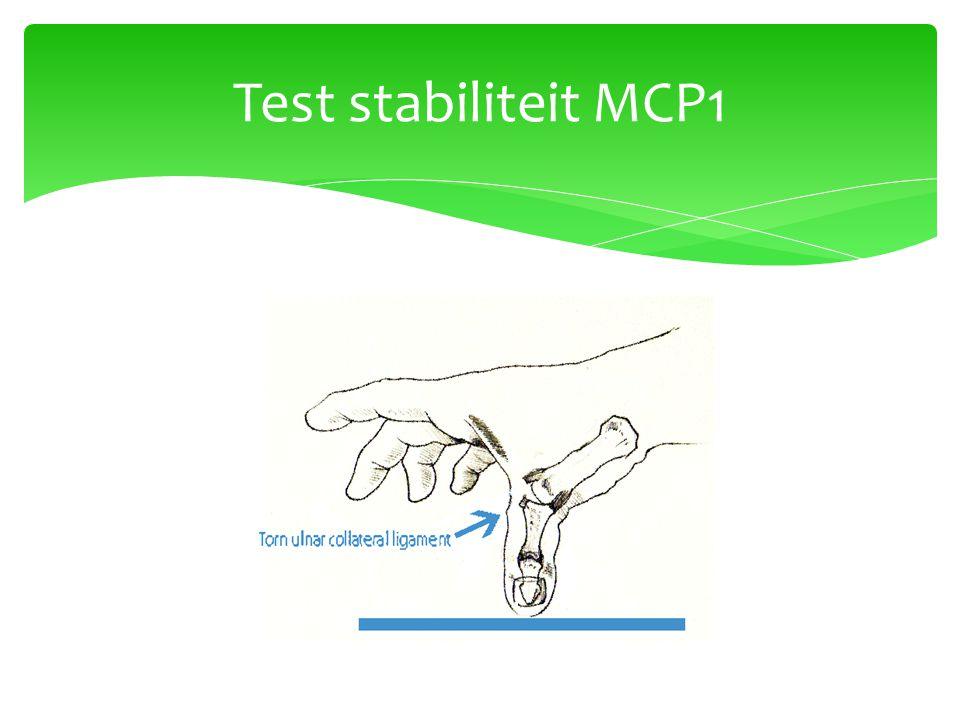 Test stabiliteit MCP1