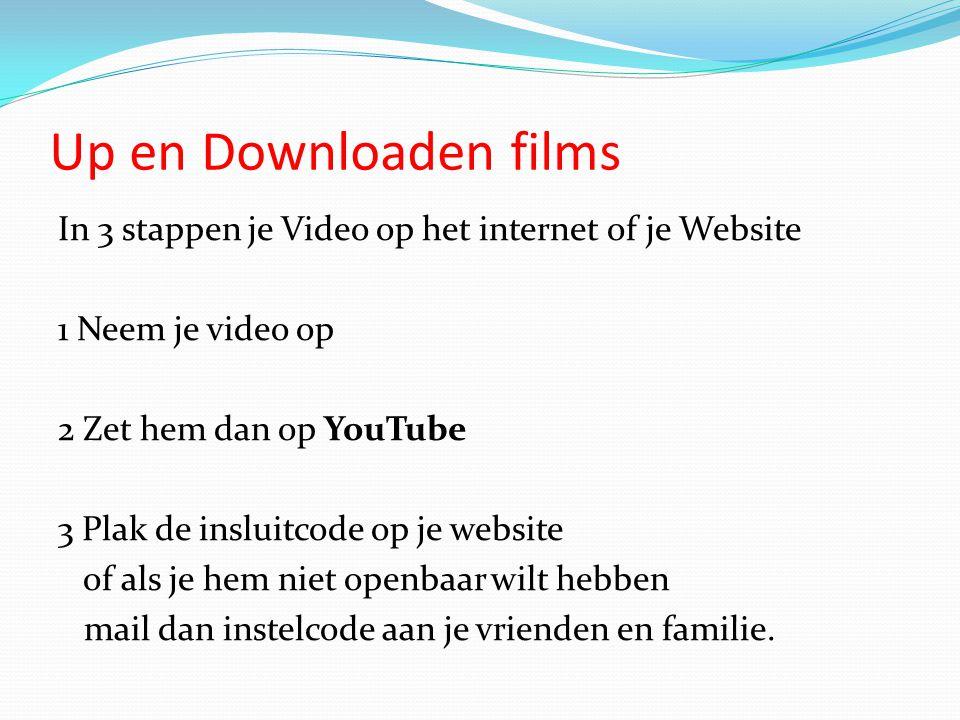 Up en Downloaden films