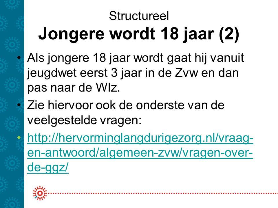 Structureel Jongere wordt 18 jaar (2)
