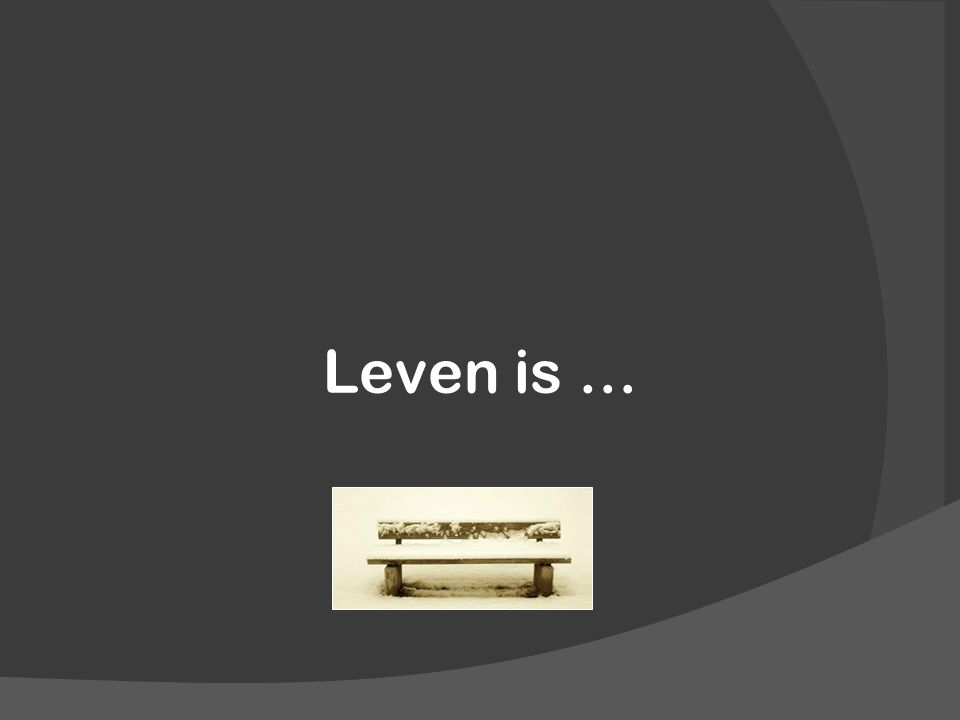 Leven is …