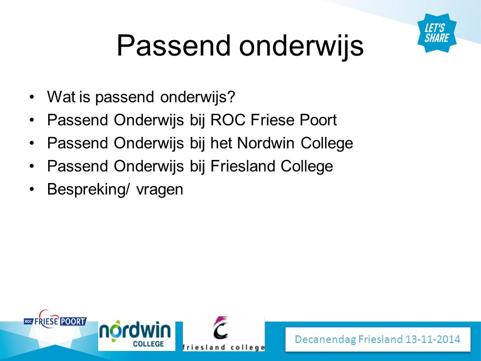 Decanendag Friesland 13-11-2014