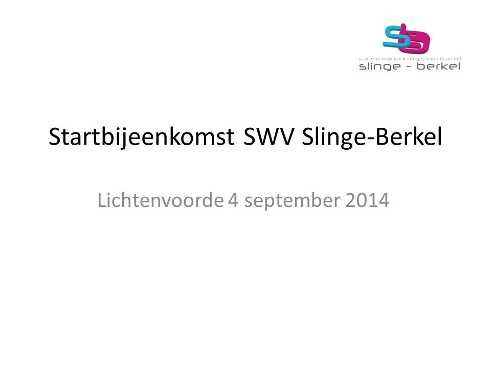 Startbijeenkomst SWV Slinge-Berkel