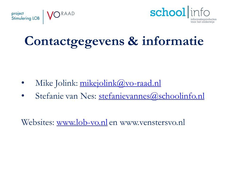 Contactgegevens & informatie