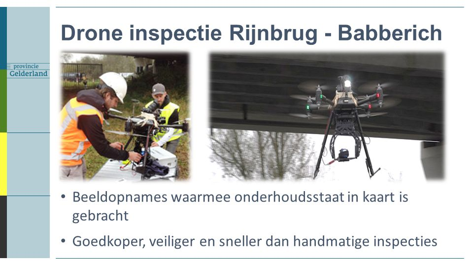 Drone inspectie Rijnbrug - Babberich