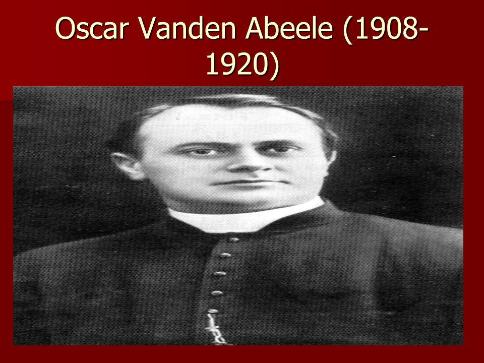 Oscar Vanden Abeele (1908-1920)