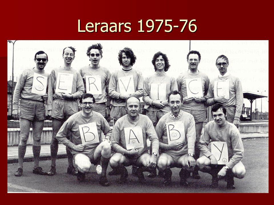 Leraars 1975-76