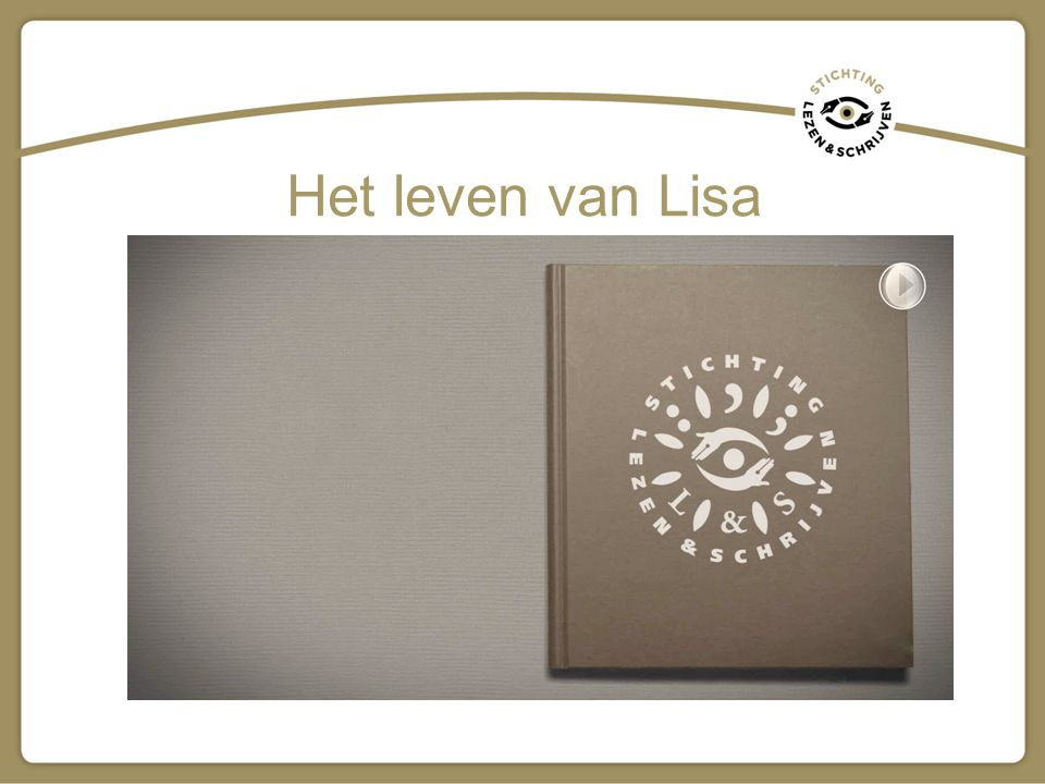 Het leven van Lisa LINK: http://www.vimeo.com/29490613 Ook verkrijgbaar op DVD bij Stichting Lezen & Schrijven.