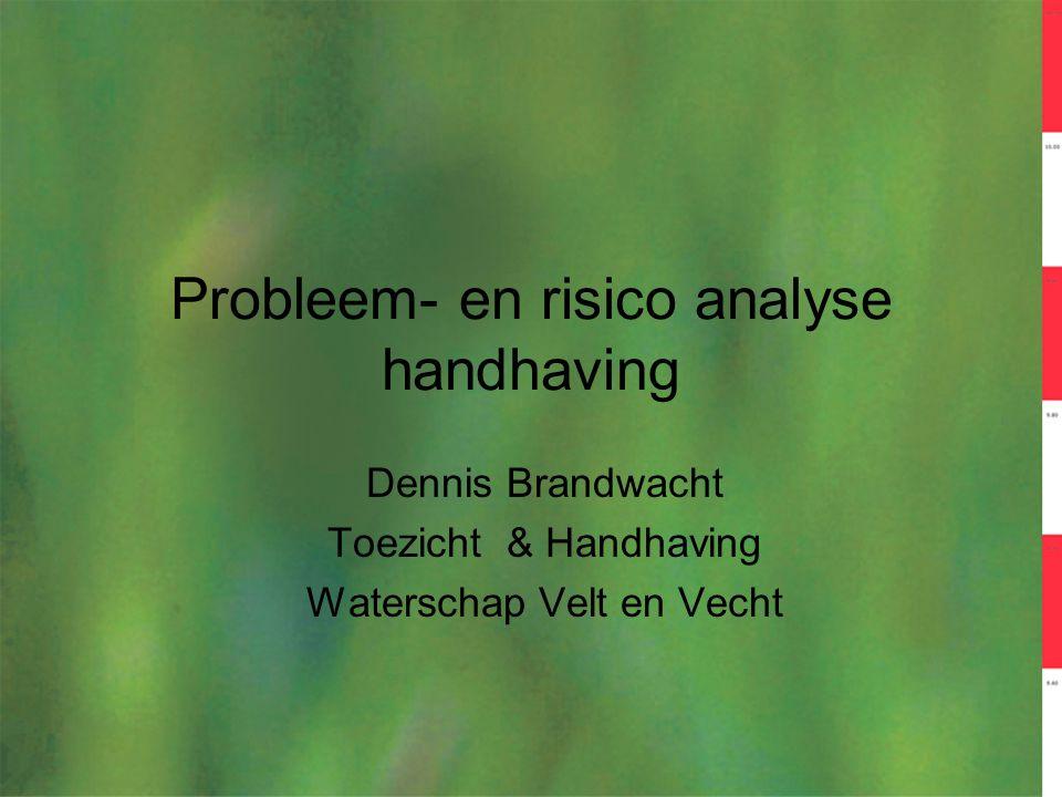 Probleem- en risico analyse handhaving