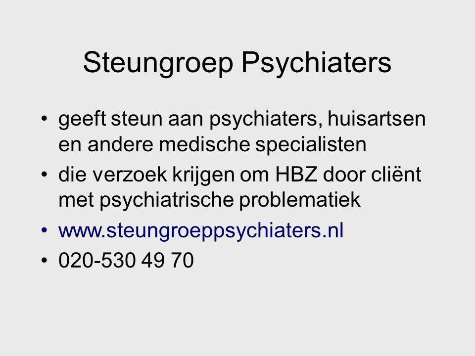 Steungroep Psychiaters