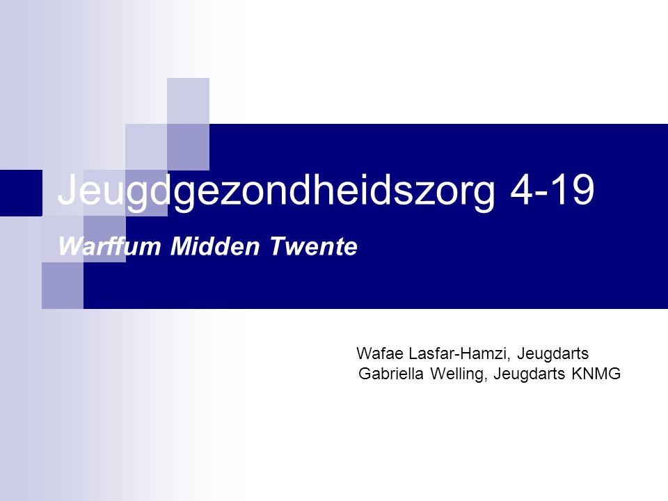Jeugdgezondheidszorg 4-19 Warffum Midden Twente