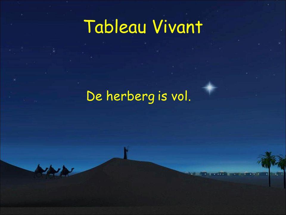 Tableau Vivant De herberg is vol.