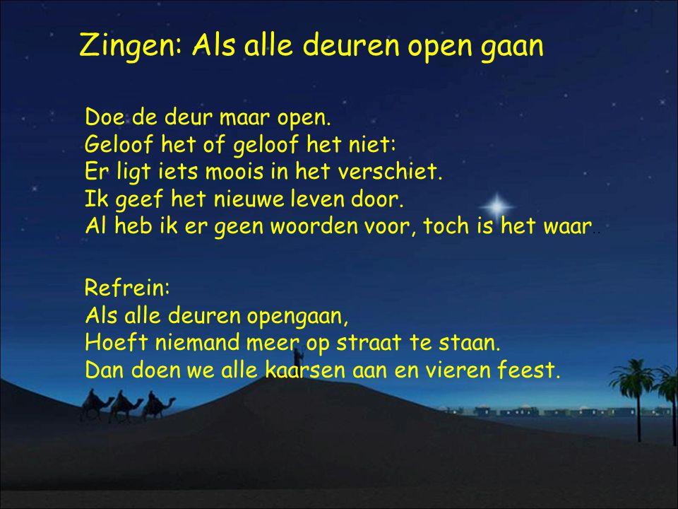 Zingen: Als alle deuren open gaan