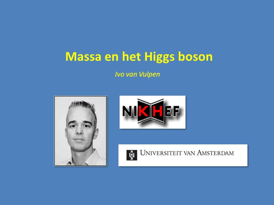 Massa en het Higgs boson