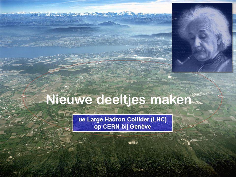 De Large Hadron Collider (LHC) op CERN bij Genève