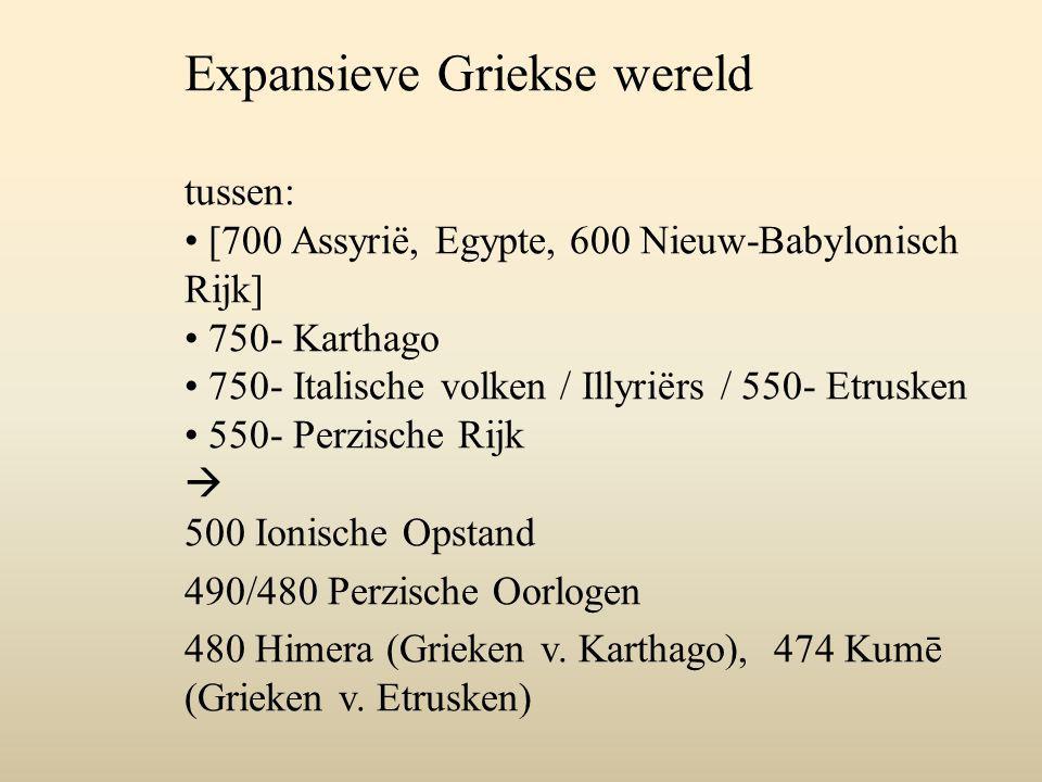Expansieve Griekse wereld