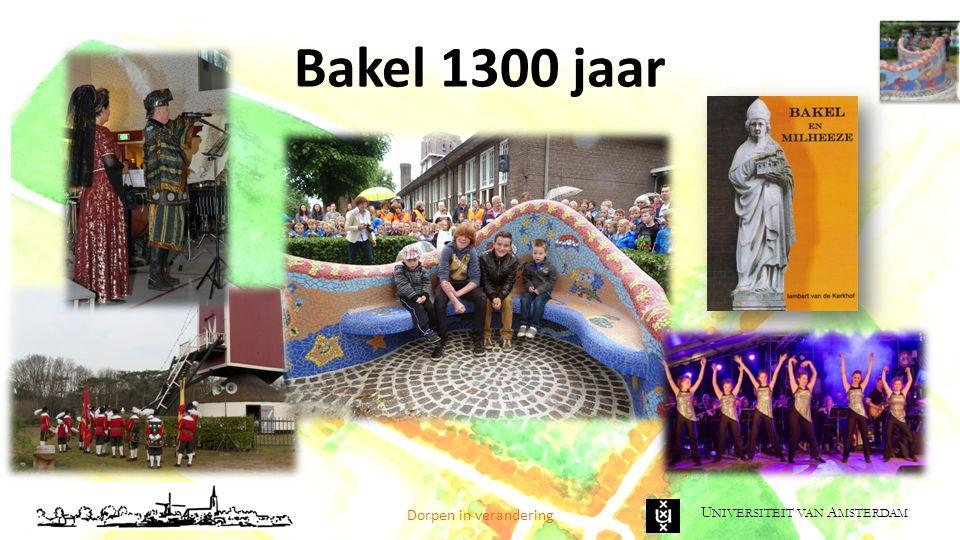 Bakel 1300 jaar Dorpen in verandering
