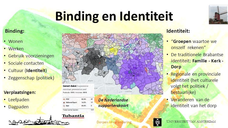 Binding en Identiteit Binding: Identiteit: Wonen Werken