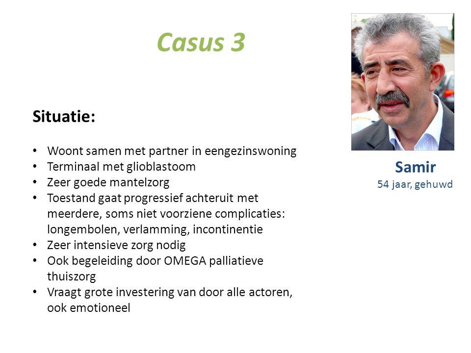 Casus 3 Situatie: Samir Woont samen met partner in eengezinswoning