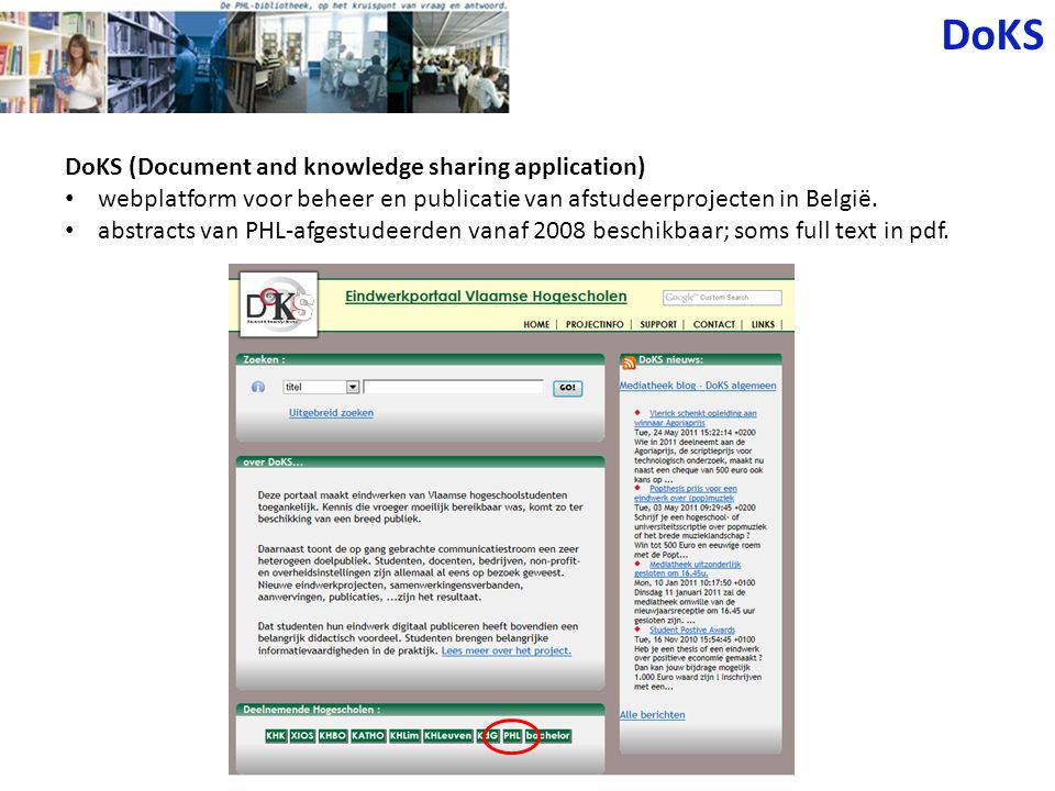 DoKS DoKS (Document and knowledge sharing application)