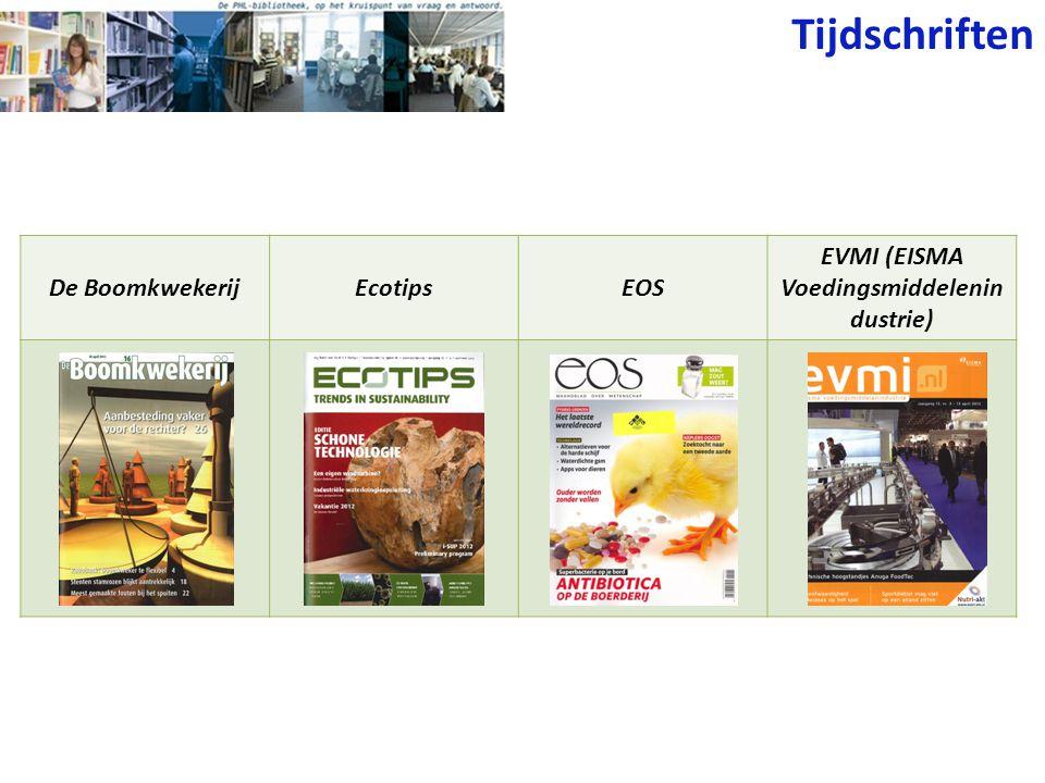 EVMI (EISMA Voedingsmiddelenindustrie)