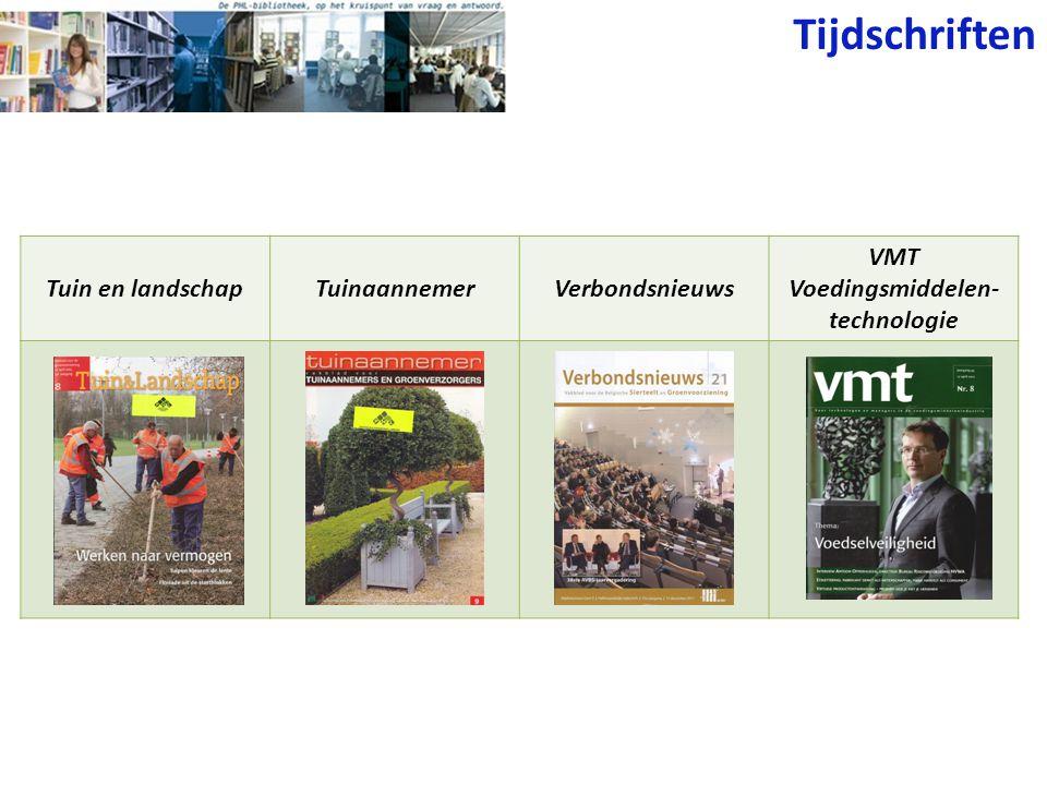 VMT Voedingsmiddelen-technologie
