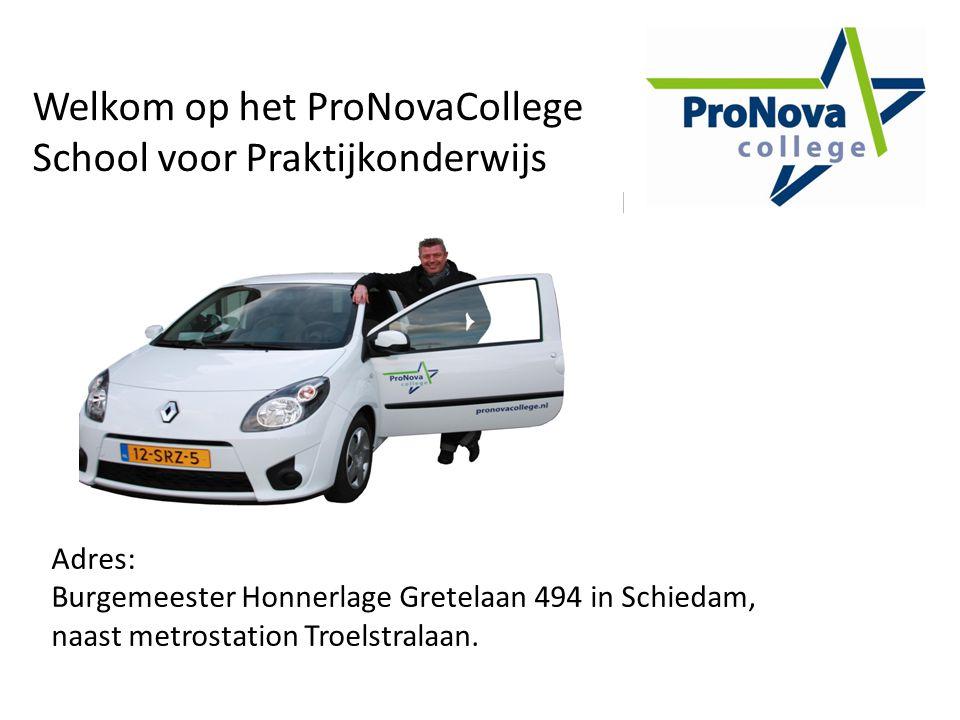 Welkom op het ProNovaCollege School voor Praktijkonderwijs