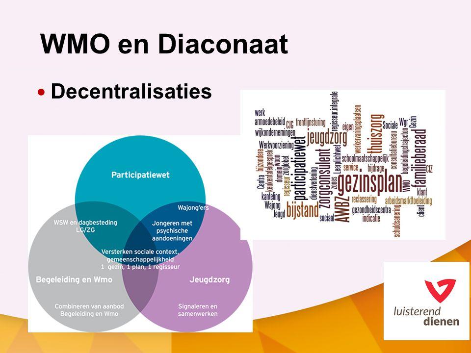 WMO en Diaconaat Decentralisaties