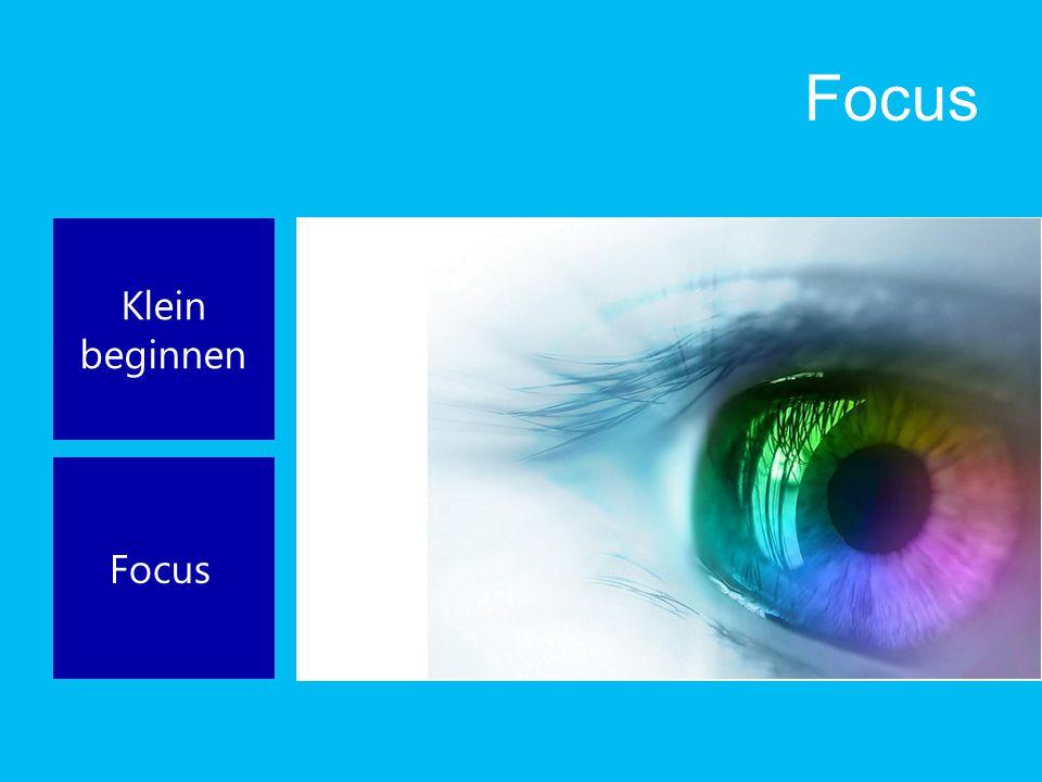 Focus Klein beginnen Focus